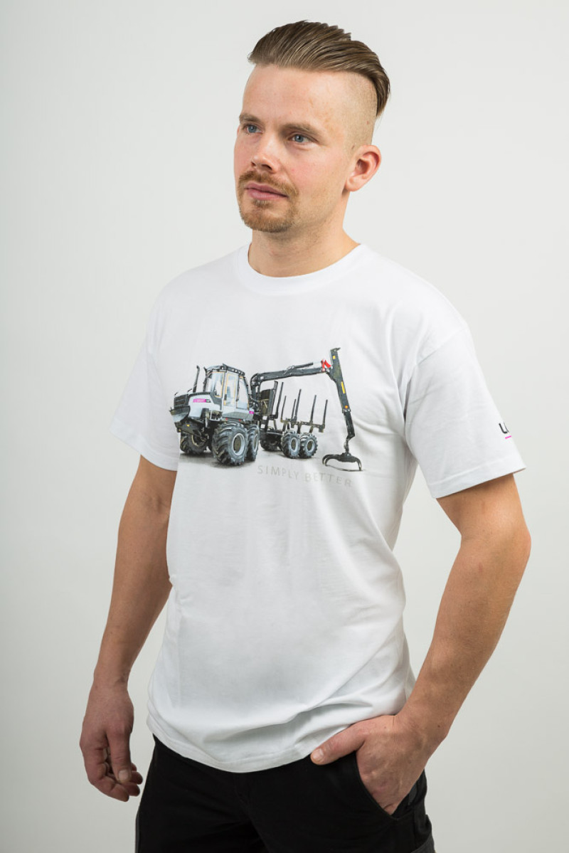 T-shirt Forwarder White